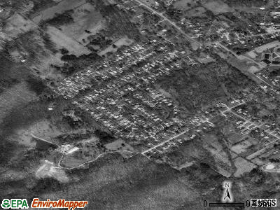 Hollyvilla satellite photo by USGS
