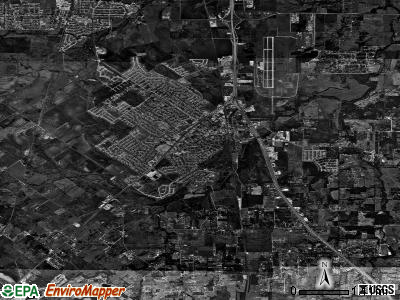 Burleson satellite photo by USGS