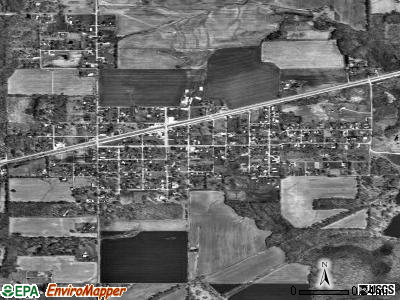 Buckner satellite photo by USGS