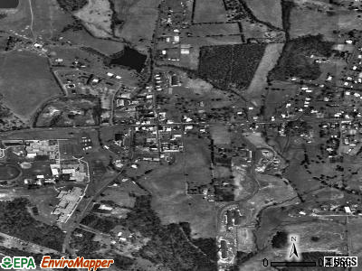 Stanardsville satellite photo by USGS