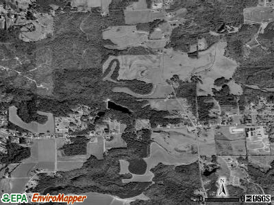 Hatley satellite photo by USGS