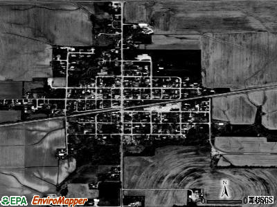 Summerfield satellite photo by USGS