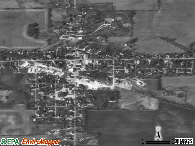 Whitestown satellite photo by USGS