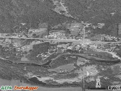 Gates satellite photo by USGS