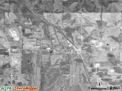 Elkmont satellite photo by USGS