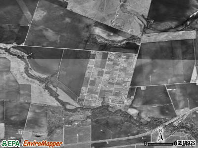 Rancho Banquete satellite photo by USGS