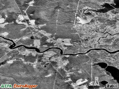 Corbin City satellite photo by USGS