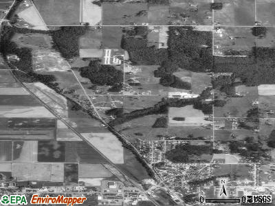 North Stanwood satellite photo by USGS