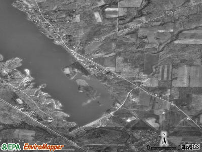 Pymatuning South satellite photo by USGS