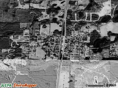 Alford satellite photo by USGS