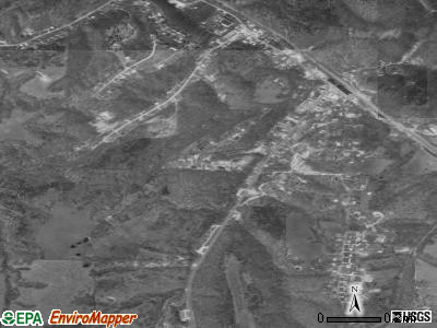 Reeds Spring satellite photo by USGS