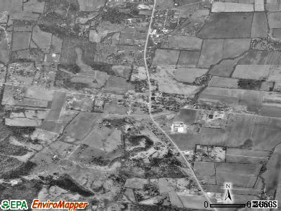 Eagleville satellite photo by USGS
