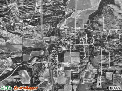 Buffalo Gap satellite photo by USGS