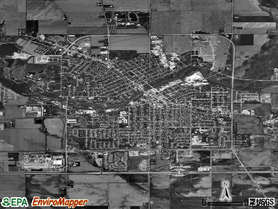 Belvidere satellite photo by USGS