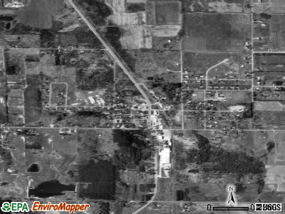 New Era satellite photo by USGS
