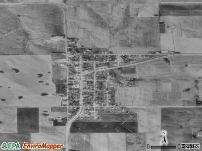 Wykoff satellite photo by USGS