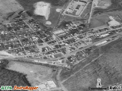 Finleyville satellite photo by USGS