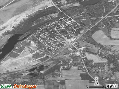 Millington satellite photo by USGS