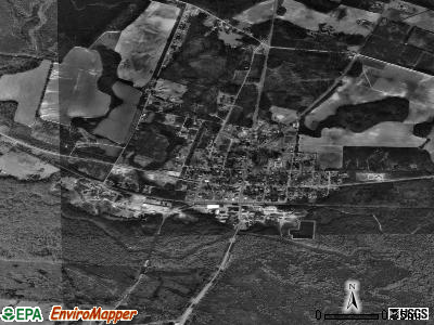 Midville satellite photo by USGS