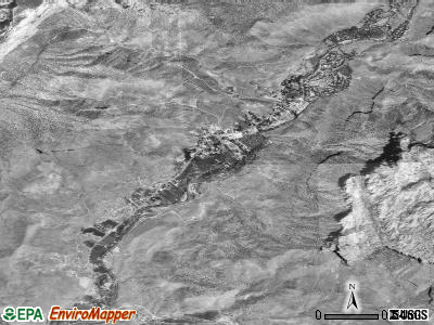 Springdale satellite photo by USGS