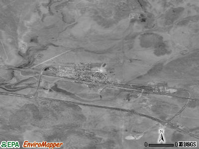 Seligman satellite photo by USGS