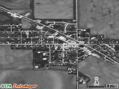 Sublette satellite photo by USGS