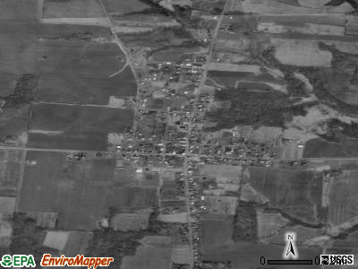 Russellville satellite photo by USGS