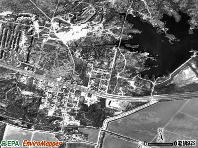 Havana satellite photo by USGS
