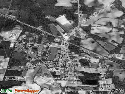 Greeleyville satellite photo by USGS
