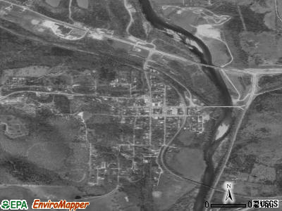 Galena satellite photo by USGS