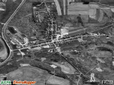 Marion Center satellite photo by USGS