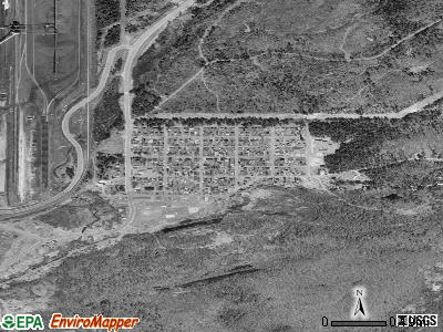Palmer satellite photo by USGS