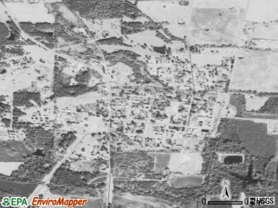 New Hebron satellite photo by USGS