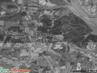 Clayville satellite photo by USGS
