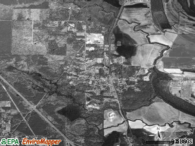Woodson satellite photo by USGS