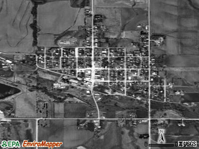 Leigh satellite photo by USGS