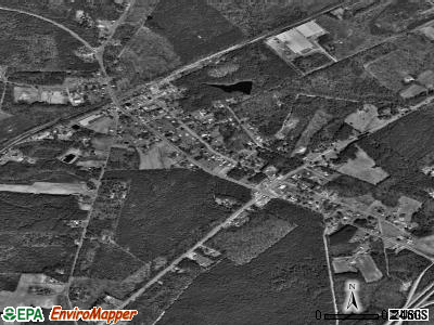 McKenney satellite photo by USGS