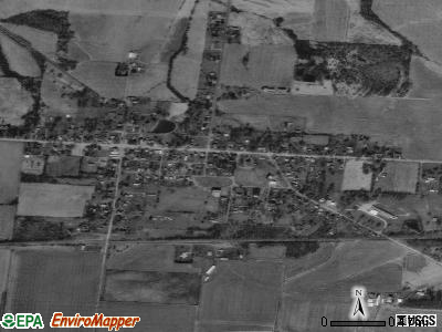 Martinsville satellite photo by USGS