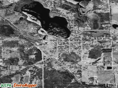 Otter Lake satellite photo by USGS