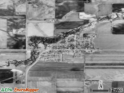 Vermillion satellite photo by USGS