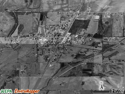 Kilbourne satellite photo by USGS