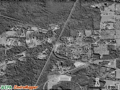 Hampton satellite photo by USGS