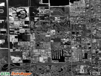 Doral satellite photo by USGS