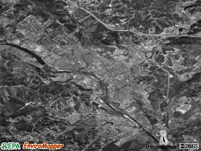 Kerrville satellite photo by USGS