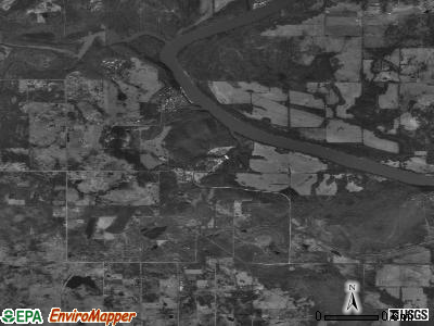 Pin Oak Acres satellite photo by USGS