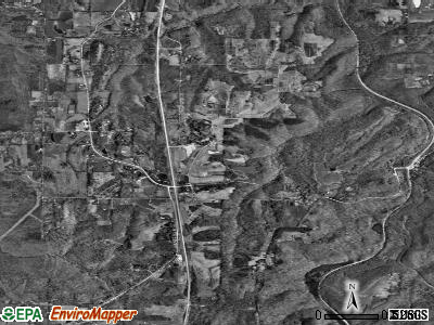 Makanda satellite photo by USGS