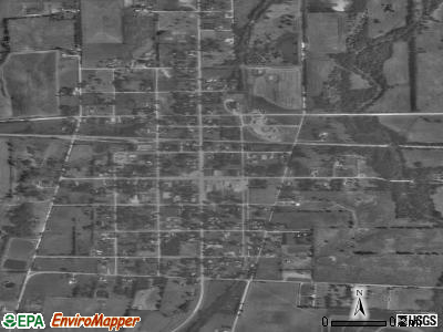 Mound Valley satellite photo by USGS