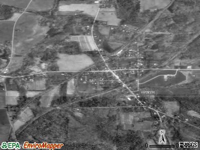 Mill Village satellite photo by USGS