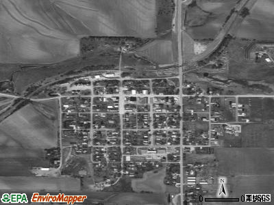 Allen satellite photo by USGS