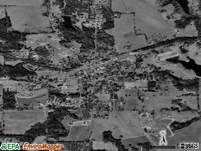 Yatesville satellite photo by USGS